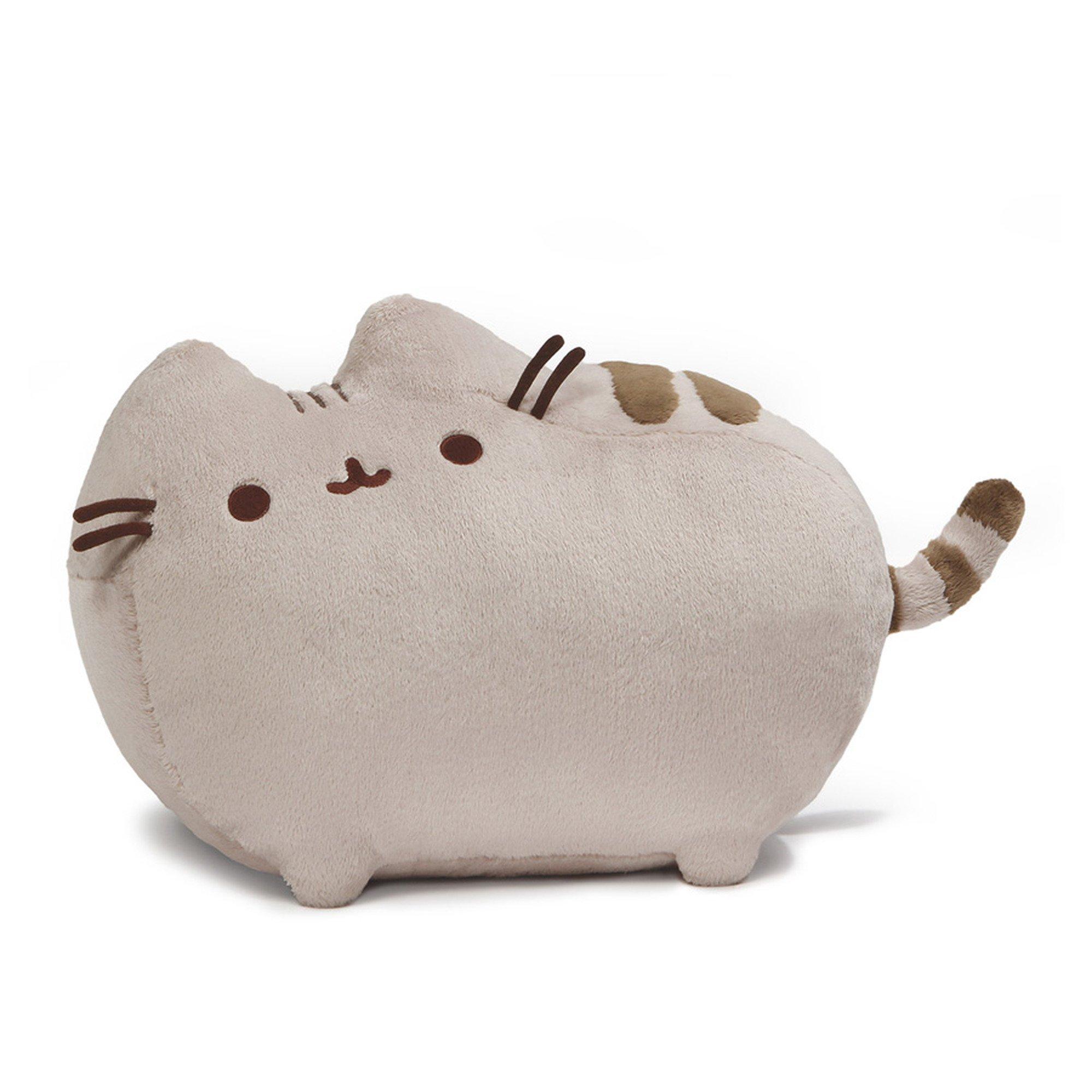 GUND Pusheen Cat Deluxe Plush Stuffed Animal, Gray, 19'' by GUND