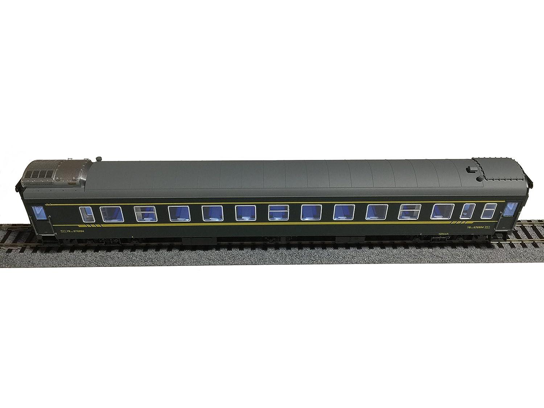 N27 HOゲージ 硬臥車 YW25G 中国 鉄道模型 客車 寝台車 グリーン   B00PFLA0UE
