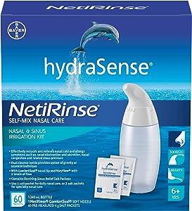 hydraSense NetiRinse 2-in-1 Nasal and Sinus Irrigation Kit