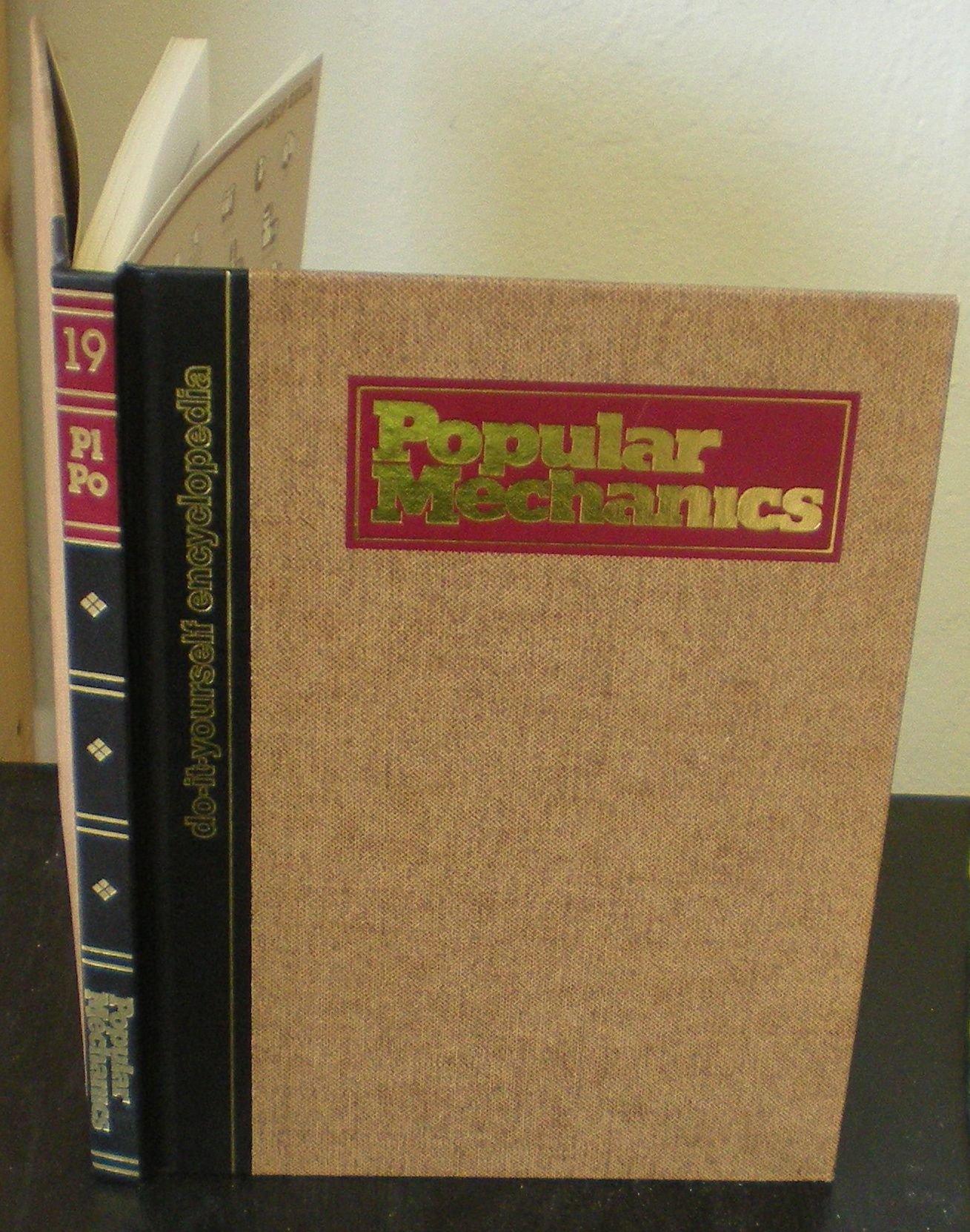 Popular Mechanics do it Yourself encyclopedia Volume 19 Plumbing to Power tools