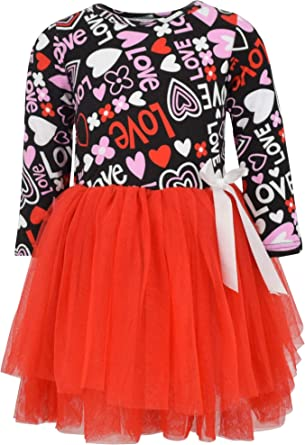 Valentine Day Ruffled You Choose Toddler Girls Tulle Skirt Three Tiered