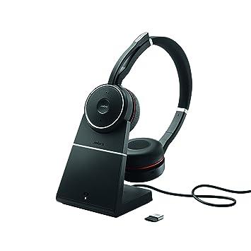 Jabra Evolve 75 MS Duo Binaurale - Auriculares (Binaurale)