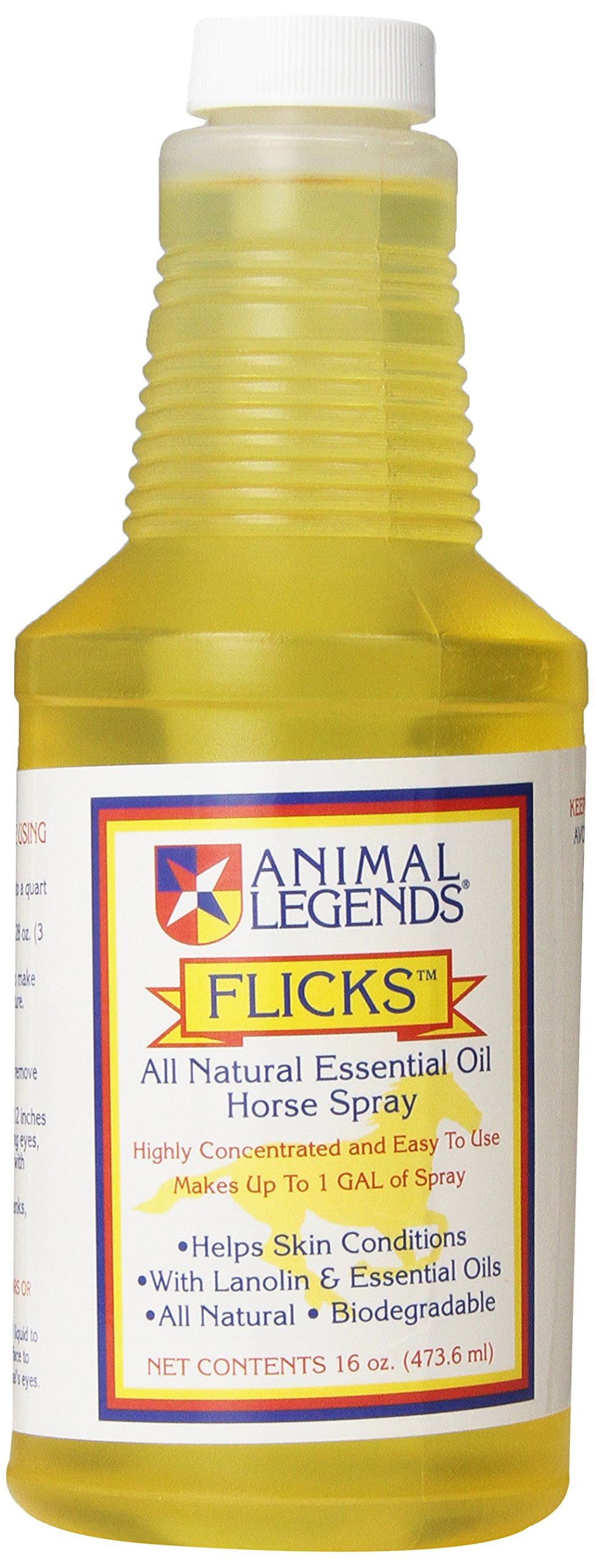 Animal Legends Flicks Horse Spray Refill Concentrate, 16-Ounce by Animal Legends