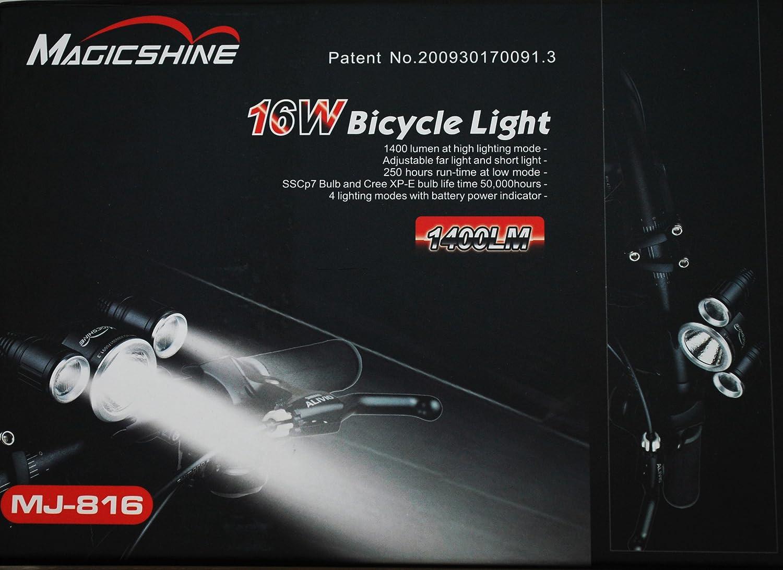 MagicShine MJ-816 1400 LM Led Bike Light