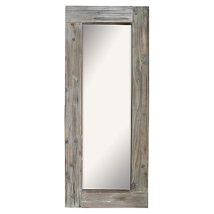 Amazon Barnyard Designs Long Decorative Wall Mirror Rustic