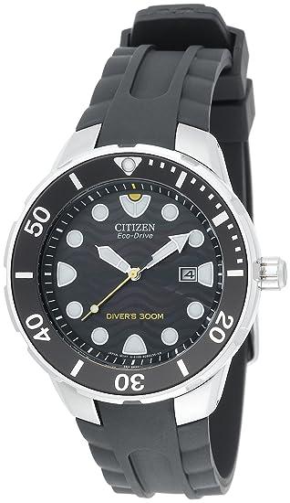 Citizen BN0070-09E - Reloj para hombres, correa de goma color negro: Amazon.es: Relojes