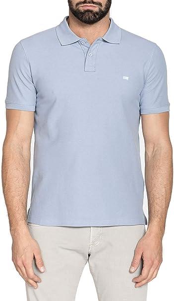 Carrera Jeans - Camiseta Tipo Polo para Hombre, Color Liso ...
