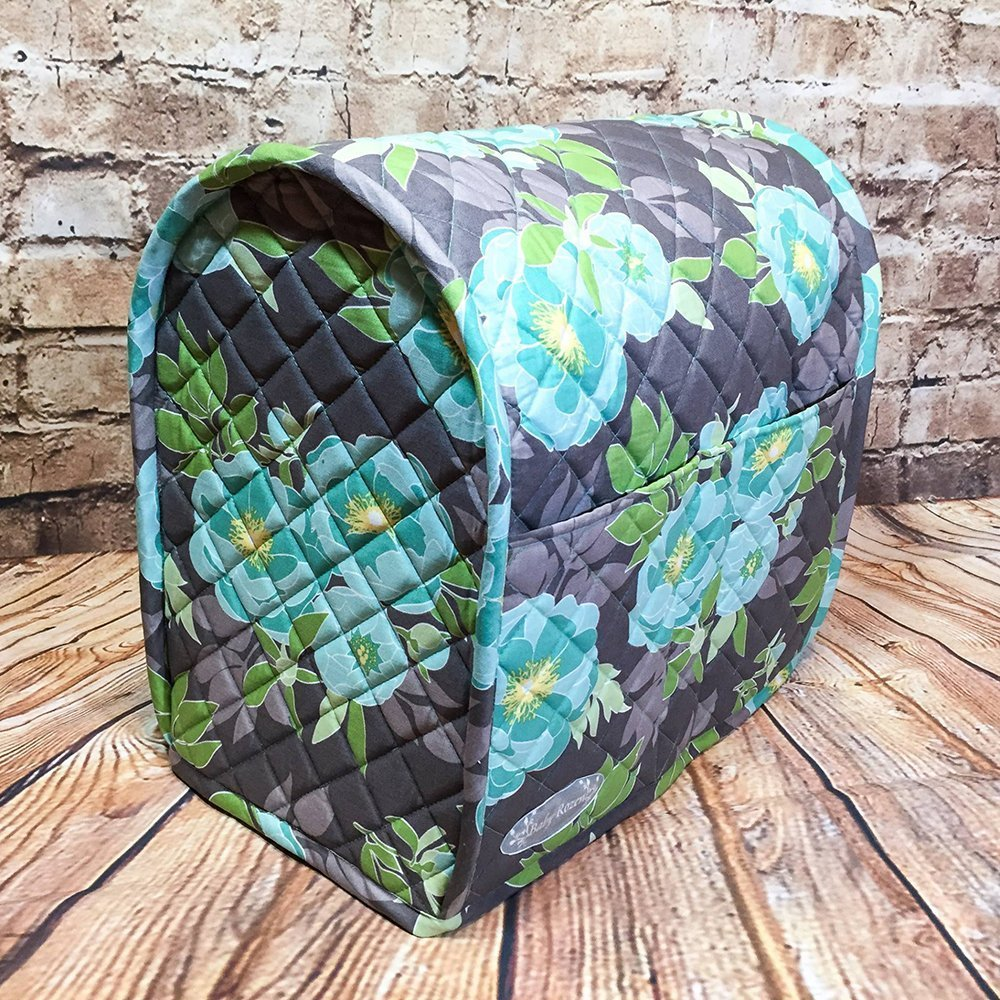 100% Cotton, Custom, Heirloom Quality, Quilted, Mixer Cover, Handcrafted to fit a 4.5 Qt. or 5 Qt. KitchenAid Tilt-Head Stand Mixer, Cozy, Made in Vermont