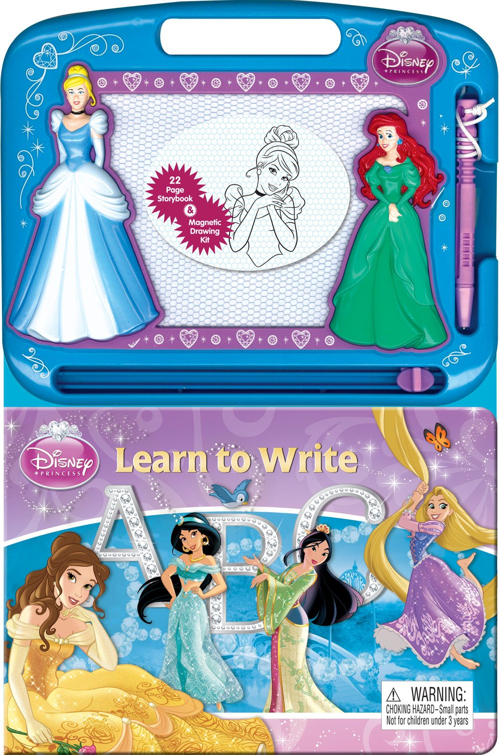 Disney Princess Learn To Write Learning Series Phidal Publishing