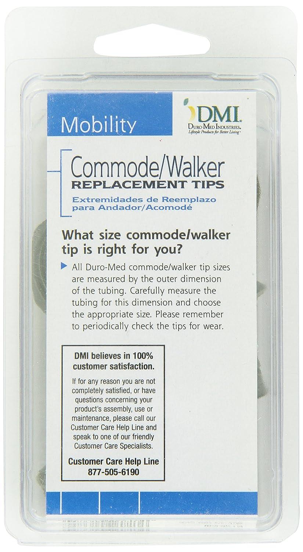 Amazon.com: DMI – Andador de goma y puntas de caña, 7/8 inch ...