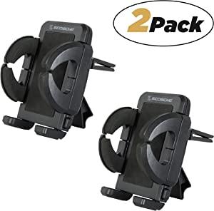 SCOSCHE IUH3R Universal Vent Mount for Vehicles (Pack of 2)