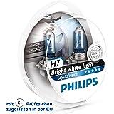 Par De Lâmpadas 4300K 12V Branca Crystal Vision H7 Philips