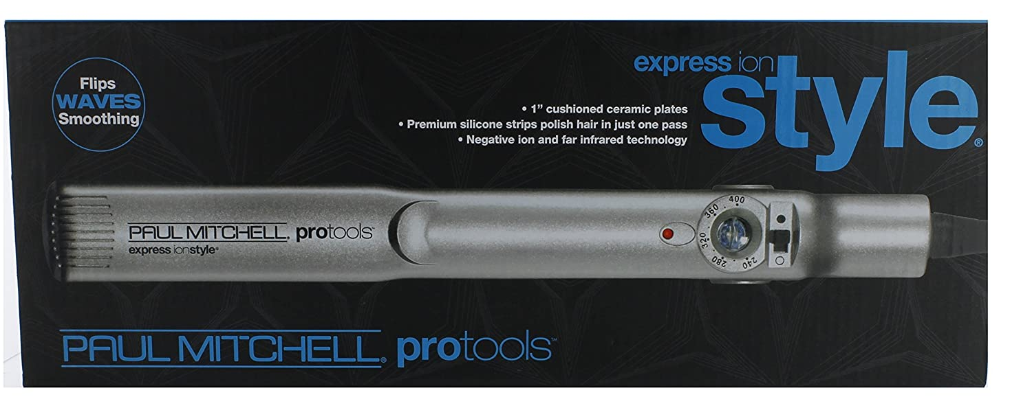 Amazon.com  Paul Mitchell Protools Express Ionstyle 1 inch cushioned ceramic plates  Flattening Irons  Beauty & Amazon.com : Paul Mitchell Protools Express Ionstyle 1 inch ...