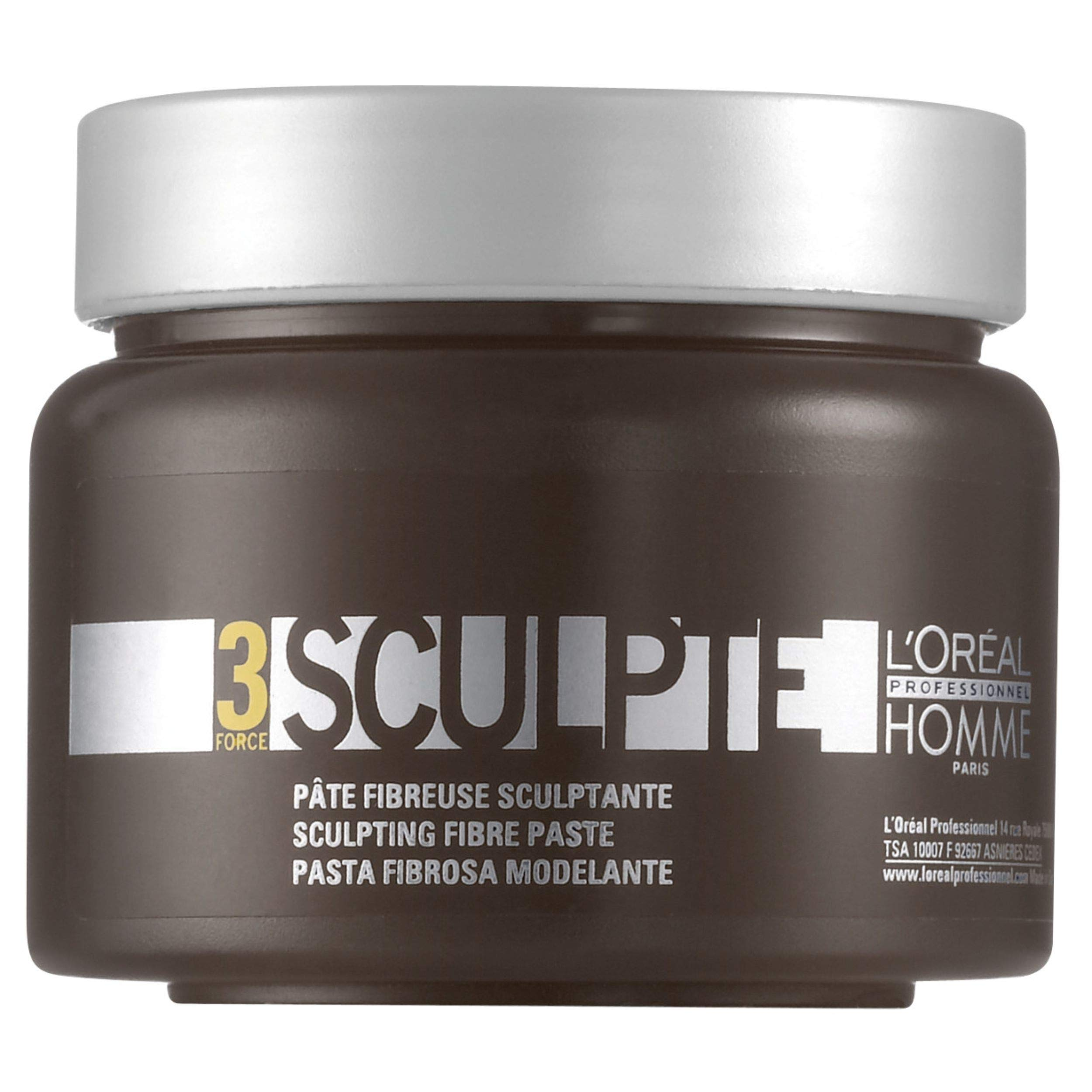 L'Oréal Professionnel - Hair Sculpting Fibrous Paste - Sculpted - 150 ml