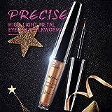 wewa98698 Glitter Shiny Eyeliner Liquid Sexy