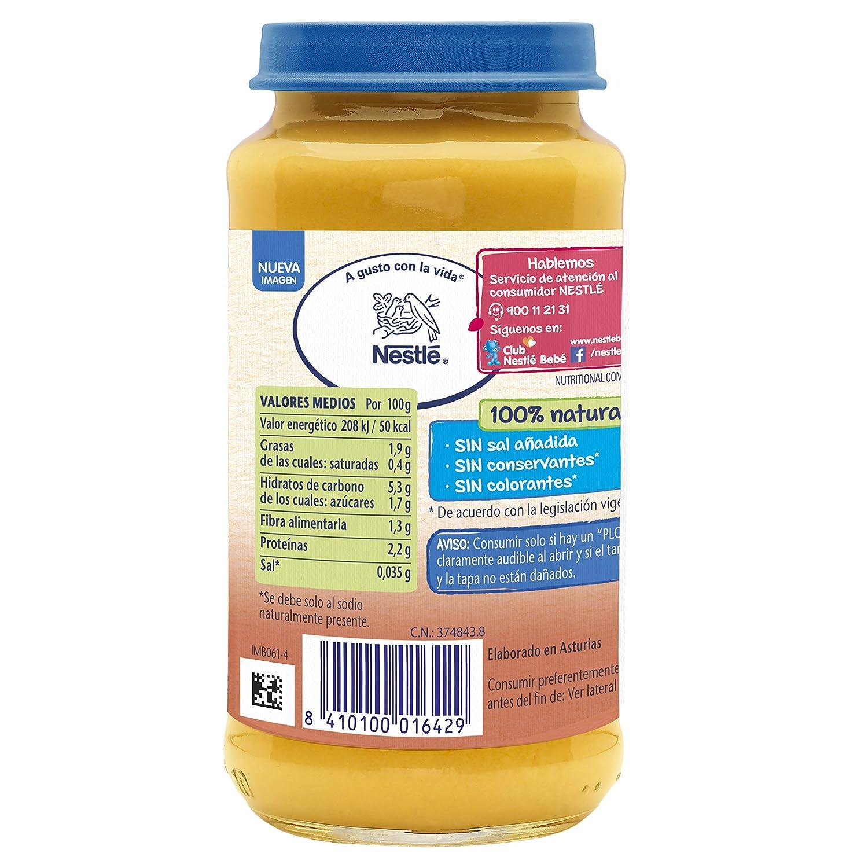NESTLÉ Purés tarrito de puré de verduras y carne, variedad Verduritas de la huerta con Pollo, para bebés a partir de 6 meses: Amazon.es: Amazon Pantry