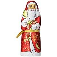 Lindt Milk Chocolate Holiday Santa, Hollow, 4.4 Ounce (Pack of 18)