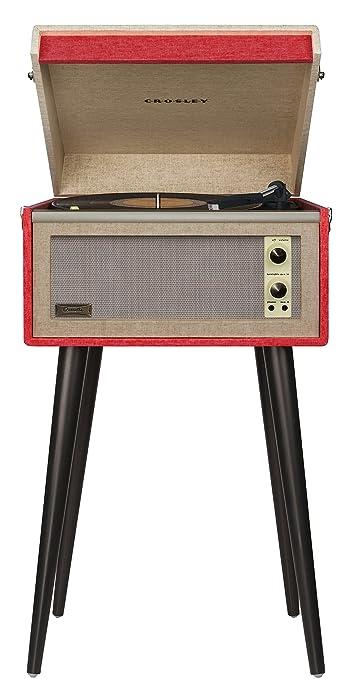 3 opinioni per Crosley CR6233A-RE Belt-drive audio turntable Beige,Black,Red audio turntable-