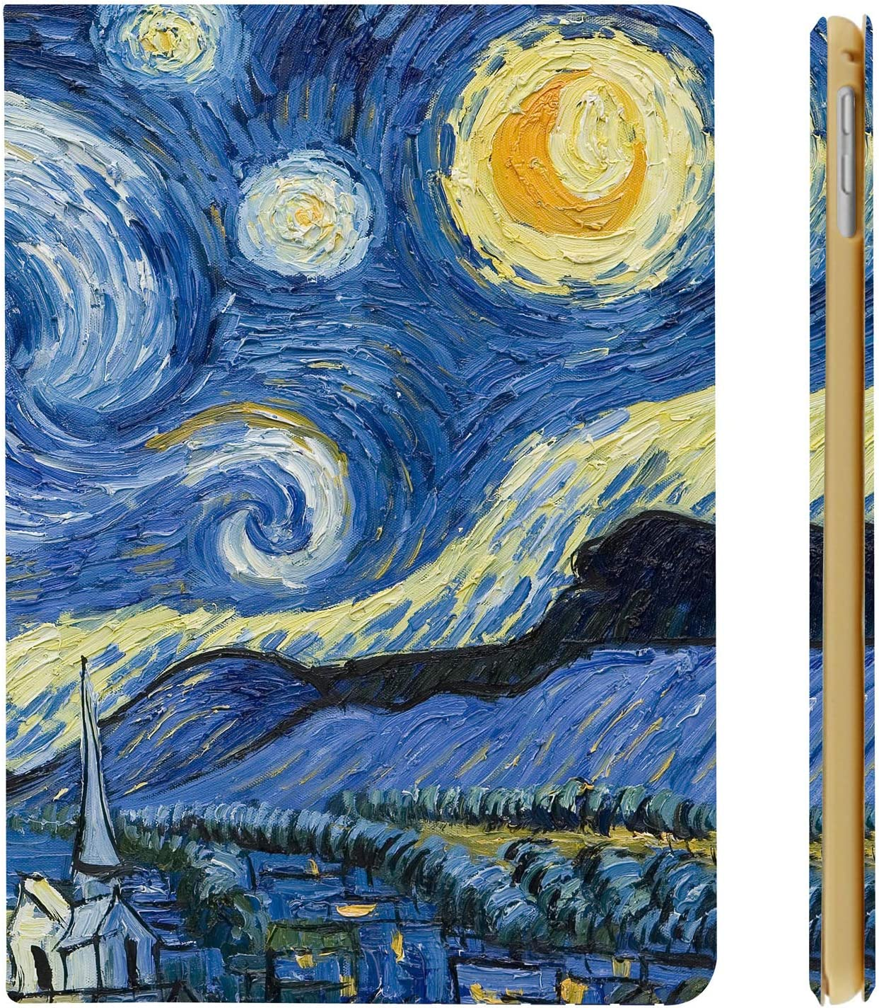 DuraSafe Cases for iPad PRO 11-1 Generation (Will Not Fit on PRO 11 2020) Flip Ultra Slim Cover Supports Pencil Pair & Charging - Starry Night