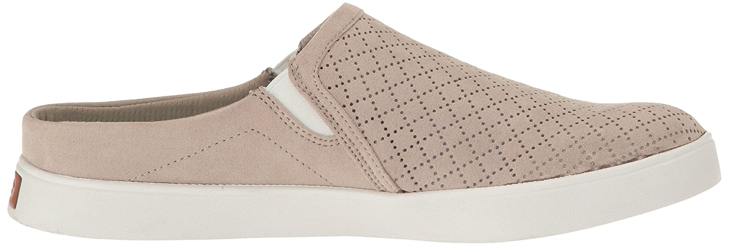 Dr. Scholl's Women's Madi Mule Fashion Sneaker B01LYKCX10 11 B(M) US|Taupe Microfiber Perforated
