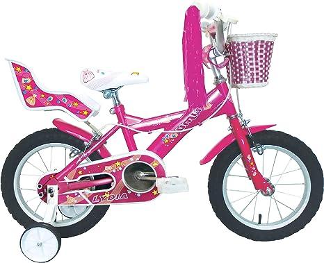 Umit J1451 Bicicleta Infantil, Niñas, Rosa, 14