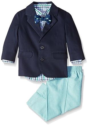62bf43a77b4c Amazon.com  IZOD Baby Boys 4-Piece Suit Set with Dress Shirt