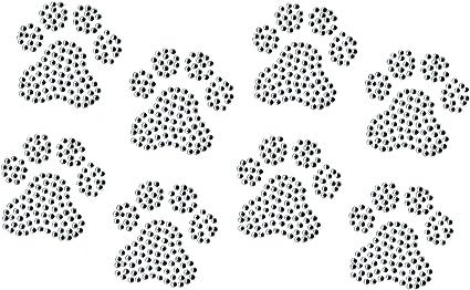 Rhinestone Bling Sparkle Iron On Transfer DIY Poodle Mom Dog Pet