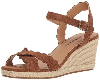 7fa6aacdff8 Amazon.com  Lucky Brand Women s Marleigh Espadrille Wedge Sandal ...