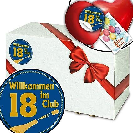 Wilkommen im Club 18 - Caja de regalo, diseño de 18 ...