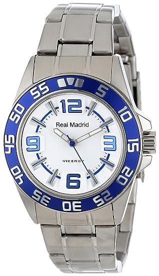 Viceroy 432840-05 - Reloj de Pulsera Mujer, Acero Inoxidable, Color Plata: Amazon.es: Relojes