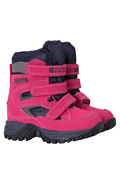 f0ff5bbd6e66 Mountain Warehouse Chill Junior Waterproof Snow Boots - Breathable ...