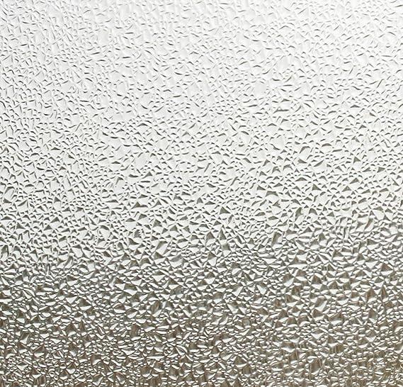 Linea fija de carga estática de adhesivo para ventanas Classic - Efecto de cristal de diferentes tamaños de la estructura de elección: 46 cm de altura de, plástico, 0.46m x 4.50 m: Amazon.es: Hogar