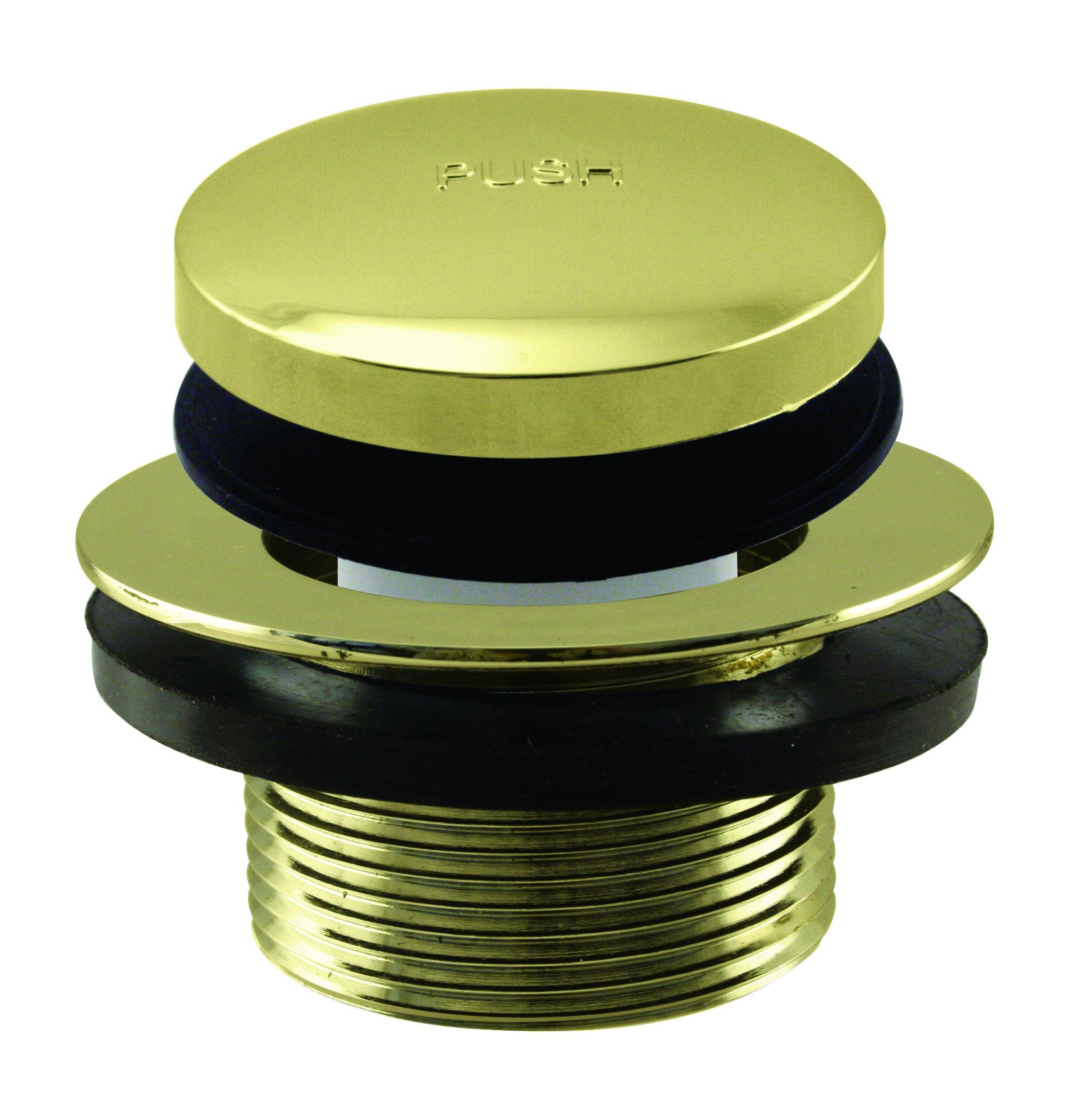 Westbrass Tip Toe 1-1/2'' NPSM Coarse Thread Bath Drain, Polished Brass, D3322-01