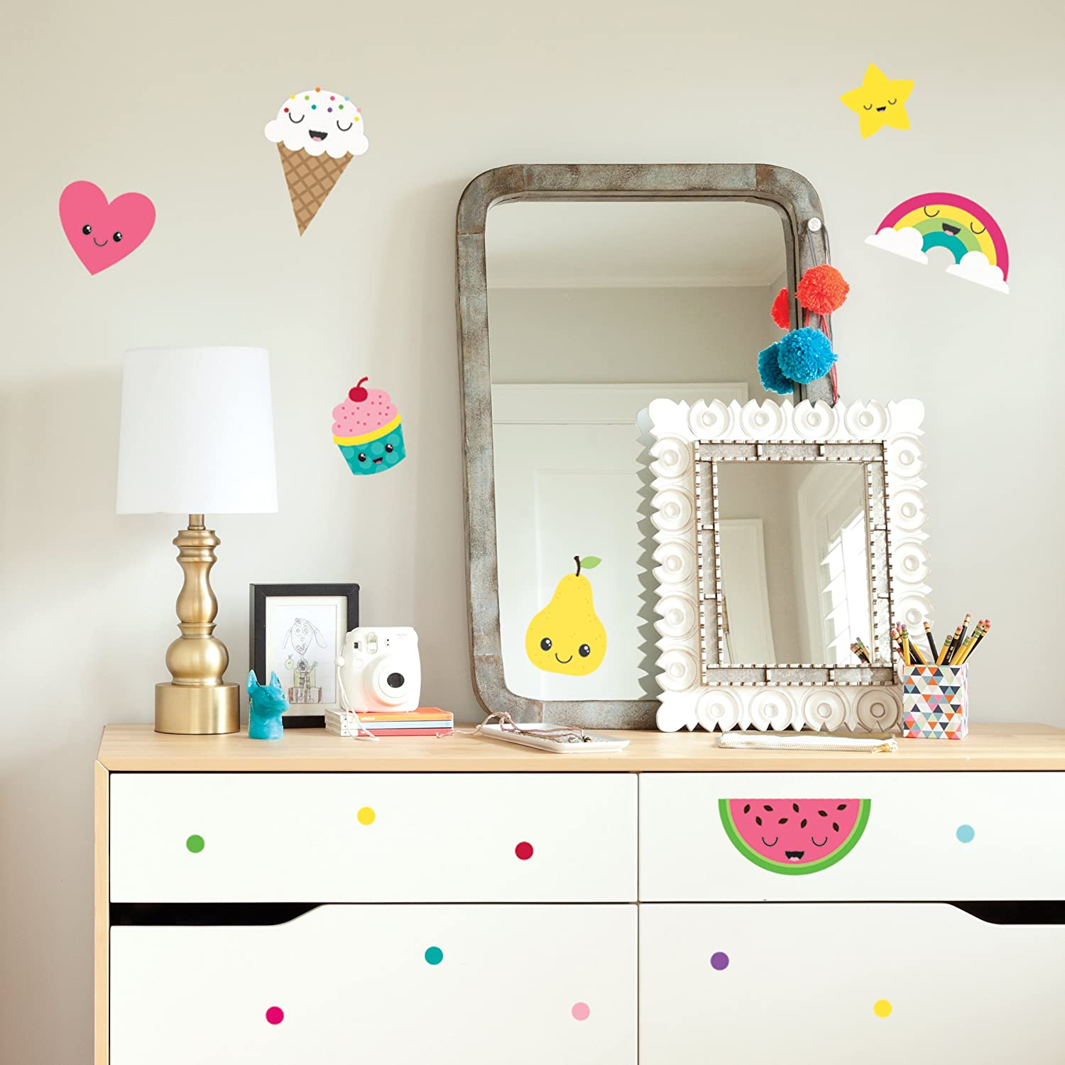 Wall Decals Art Stickers For Cute Room Decor - Easy