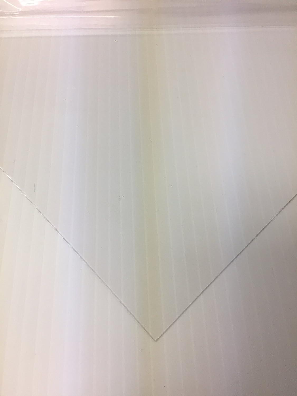 "(10 PK) PETG Clear .020 X 12' X 12"" NOM. Plastic Sheet"