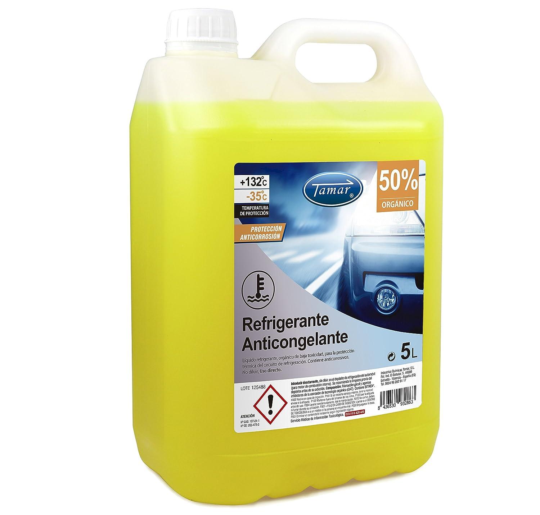 Tamar 601130005 refrigerante/antigelo 50% Organico Industrias Quimicas Tamar
