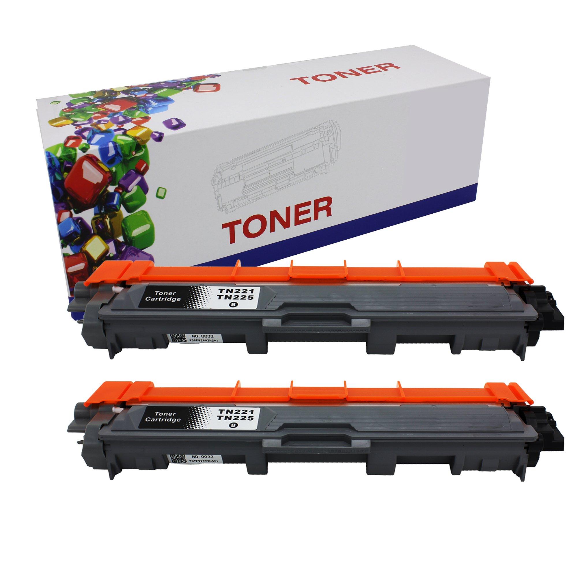 Toner Alternativo ( X2 ) Negro TN221 HL-3140CW HL-3170CDW MFC-9130CW MFC-9330CDW MFC-9340CDW