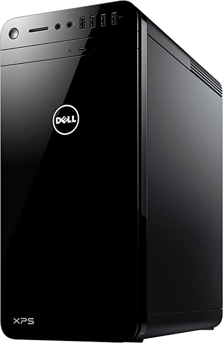 2017 Premium Dell XPS 8920 Desktop Computer, Intel Quad-Core i7-7700 up to 4.2GHz, 16GB DDR4 RAM, 1TB HDD, NVIDIA GTX 1050Ti 4GB DDR5 Windows 10 Pro (Certified Refurbished)