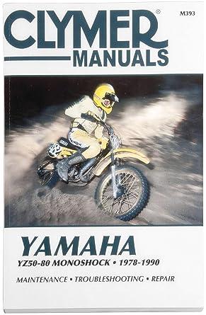 yamaha yz80 service manual