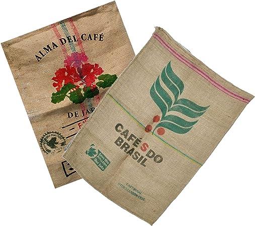Sacos de Yute Grande de Café Reciclados – Ideal para Decoracion y ...