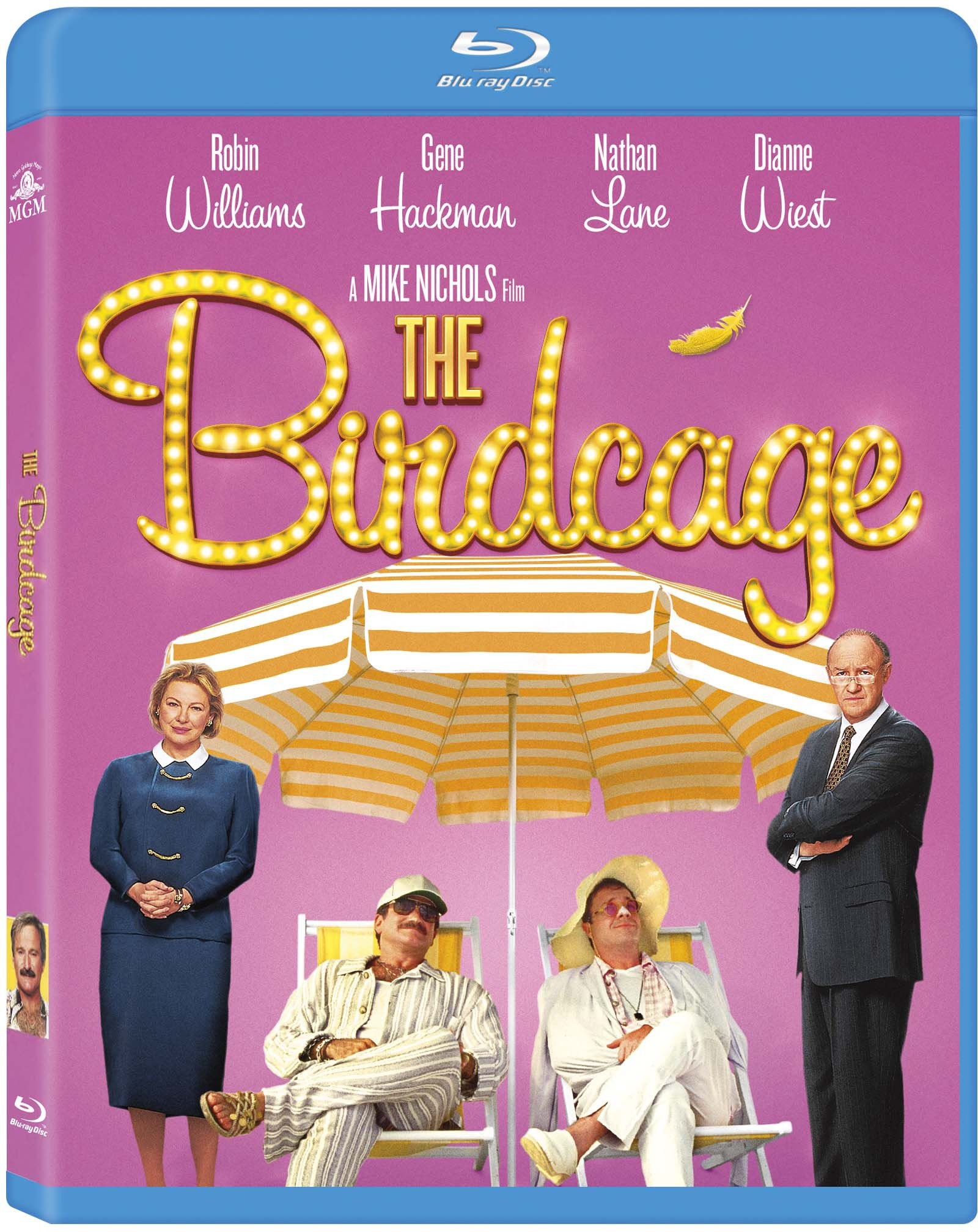 Blu-ray : The Birdcage (Dubbed, Widescreen, AC-3, Digital Theater System, Dolby)