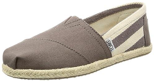TOMS Canvas Stripe University Classics, Zapatillas de Estar por casa para Mujer: Amazon.es: Zapatos y complementos