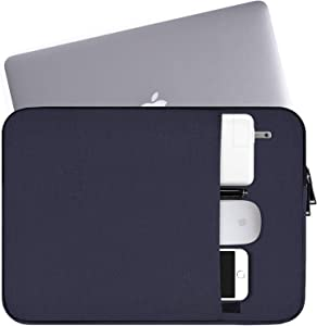 "15.6 Inch Laptop Sleeve Case Waterproof Notebook Bag Compatible with Acer Aspire E 15,Acer Predator Helios 300,ASUS VivoBook F510UA 15.6"", HP Toshiba Acer Asus LG MSI and Most 15.6"" Notebook,Navy Blue"