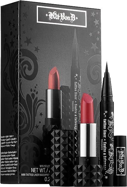 Kat Von D (Exclusivo Sephora) - Estuche de regalo black magick: Amazon.es: Belleza