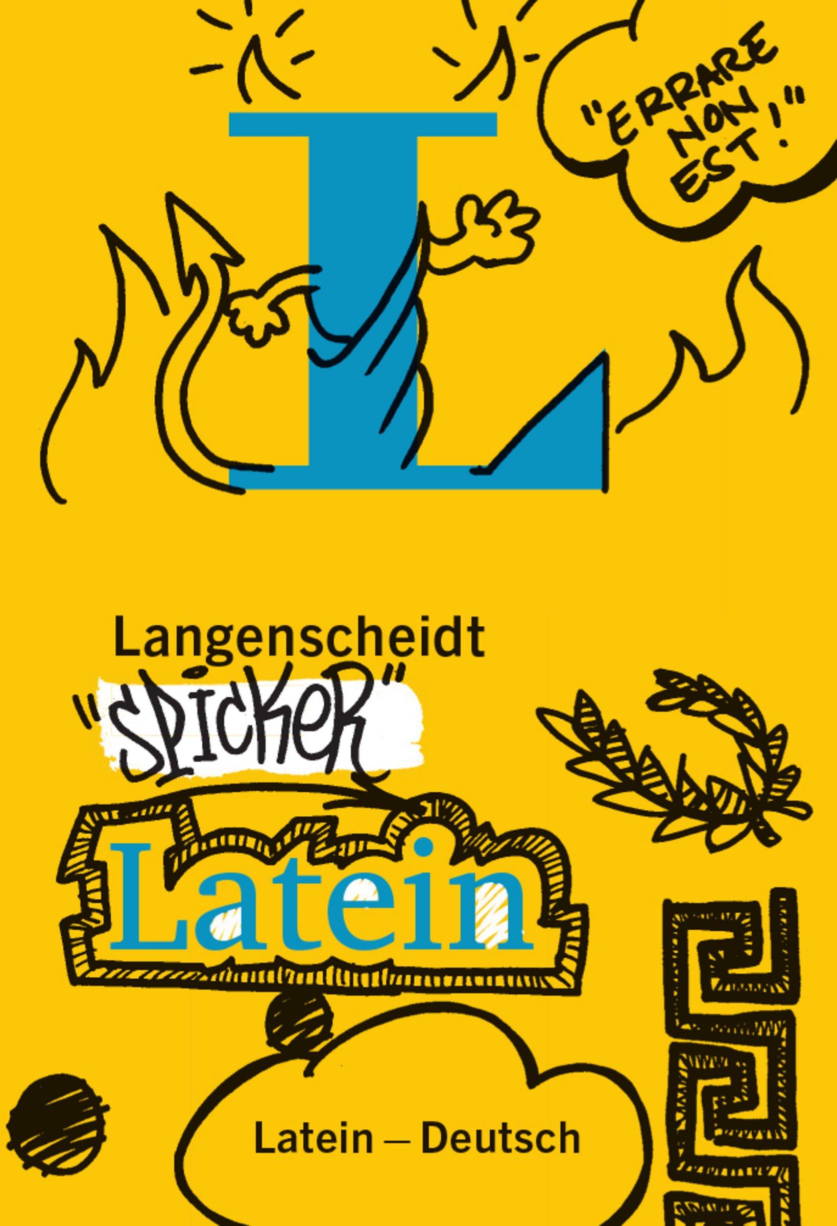 Langenscheidt Spicker Latein: Latein-Deutsch (Latein) Taschenbuch – 2. Juni 2016 Redaktion Langenscheidt 3468134045 Fremdsprachige Wörterbücher Lernhilfen / Abiturwissen