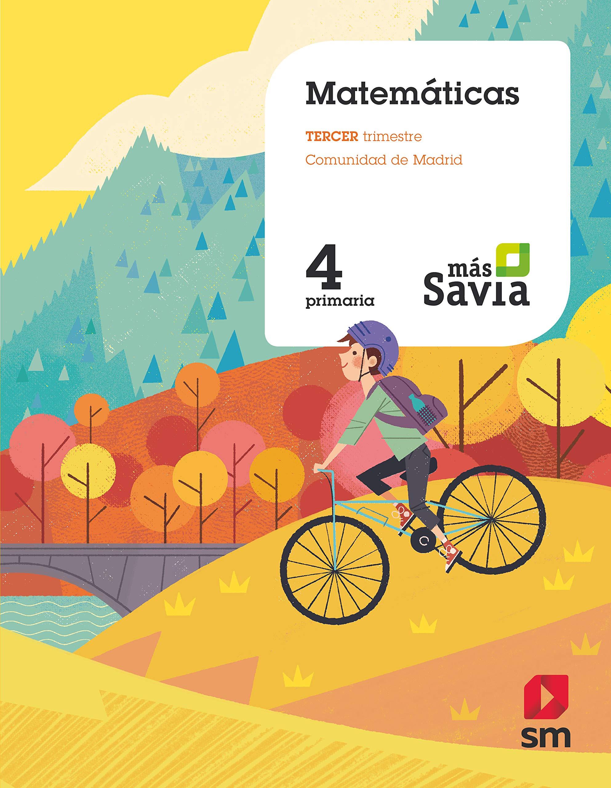 Amazon.com: Matemáticas. 4. Primaria. Más Savia. Madrid ...
