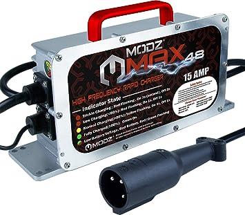 Amazon.com: MODZ Max48 - Cargador de batería de coche para ...
