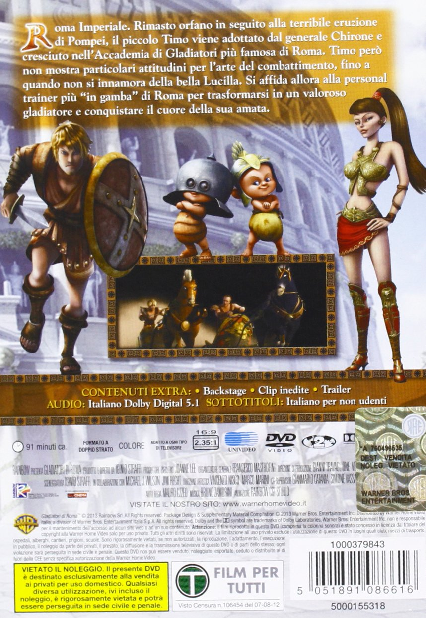 I gladiatori di roma family cinema tv