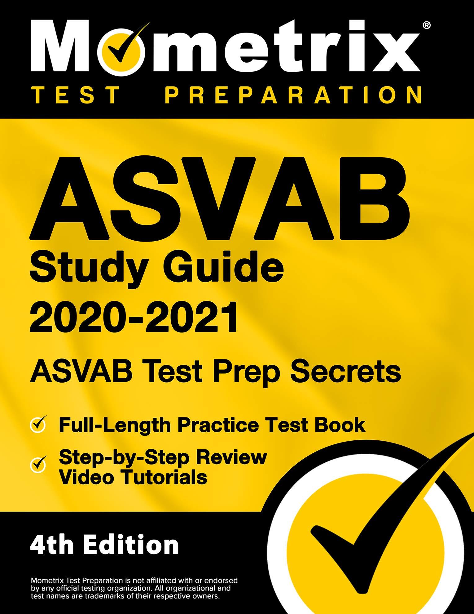 Asvab Study Guide 2020 2021 Asvab Test Prep Secrets Full Length Practice Test Book Step By Step Review Video Tutorials 4th Edition Mometrix Test Prep 9781516714964 Amazon Com Books
