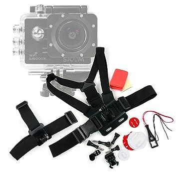 DURAGADGET Kit de Accesorios para cámaras Deportivas SJCAM SJ5000X / Sj5000 Plus Sj5000+ Ambarella A7LS75 / SJCAM SJ4000 WiFi: Amazon.es: Electrónica